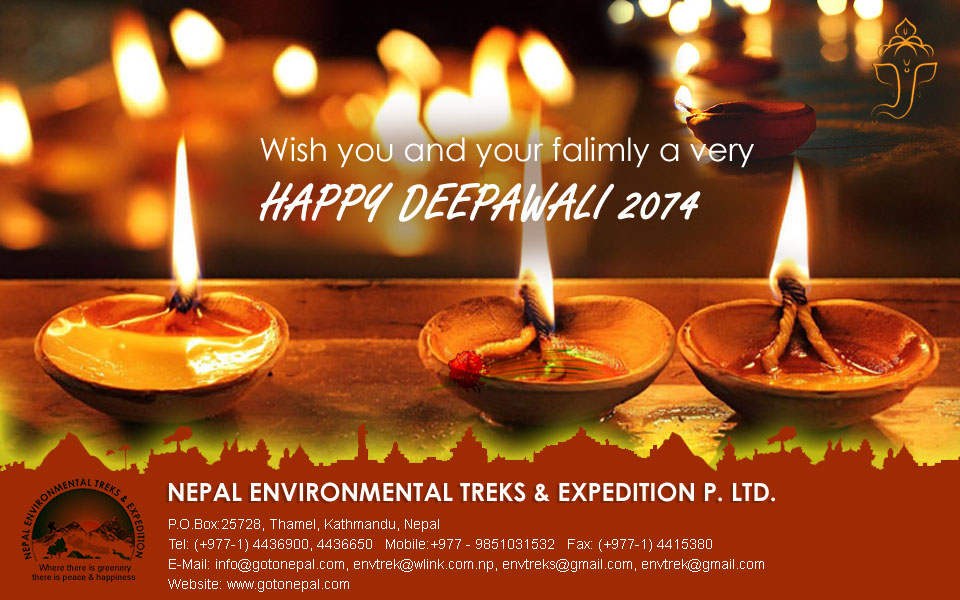 Happy Deepawali 2074