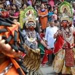 Devi Nach during Indrajatra festival