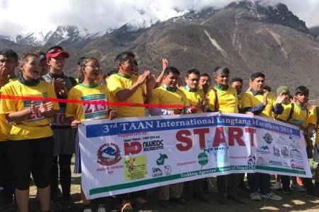 3rd TAAN Langtang Marathon 2018 organized