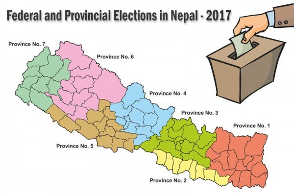 Nepal holds federal and provincial elections successfully.