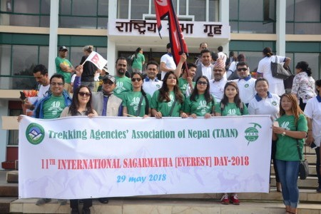 TAAN celebrates Everest Day - 2018