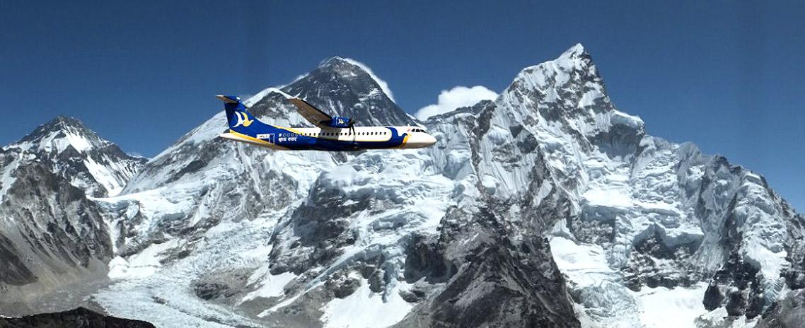 Day Tour: Kathmandu City sightseeing with Everest (Mountain) Flight