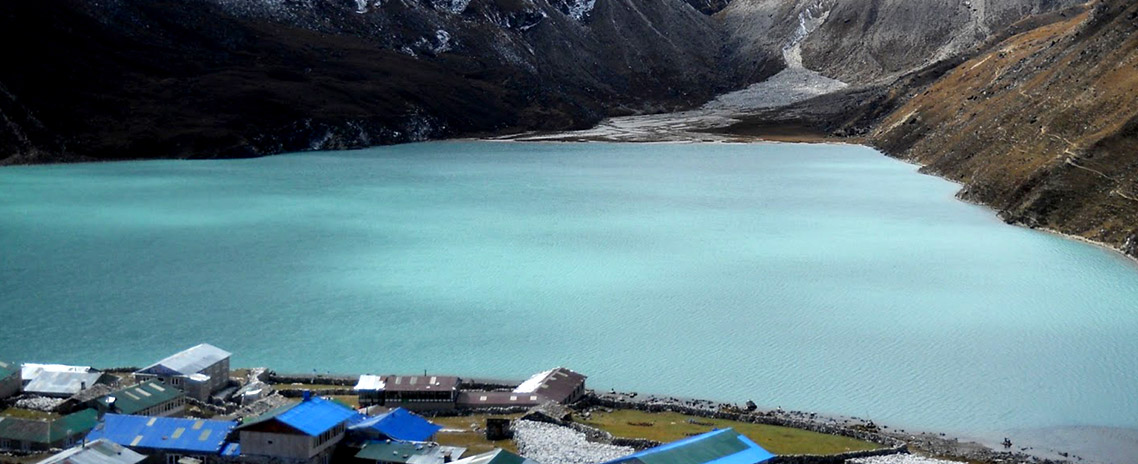 Dudhpokhari (High altitude holy milky lake at the height of 5300m.)