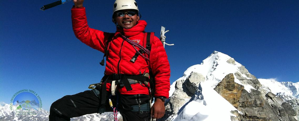 Lobuche West Peak Climbing