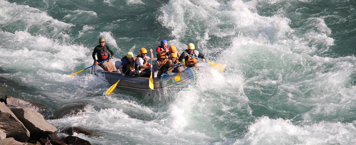 Rafting in Sunkoshi River