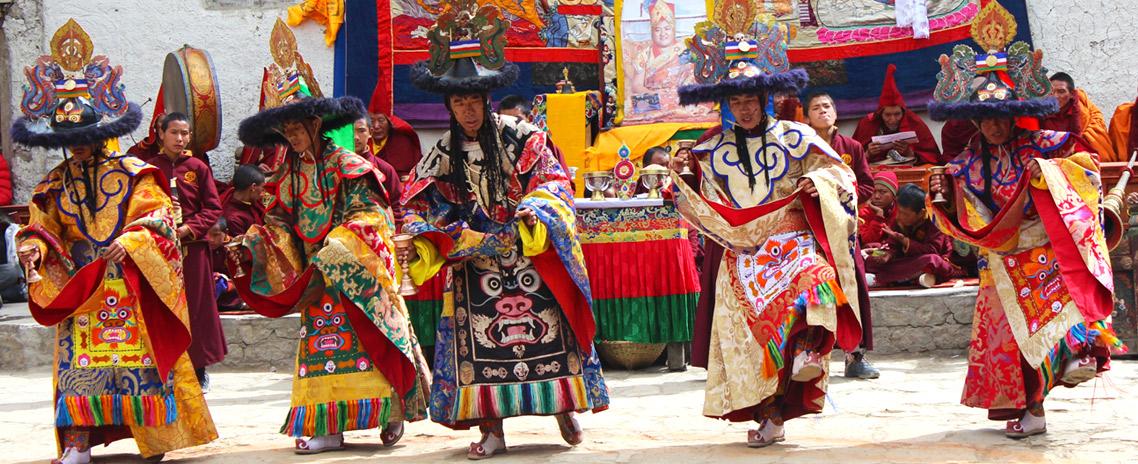 Tiji festival in Mustang