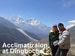 Acclimatization at Dingboche
