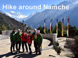Hike around Namche