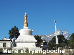 Mane at Tyangboche