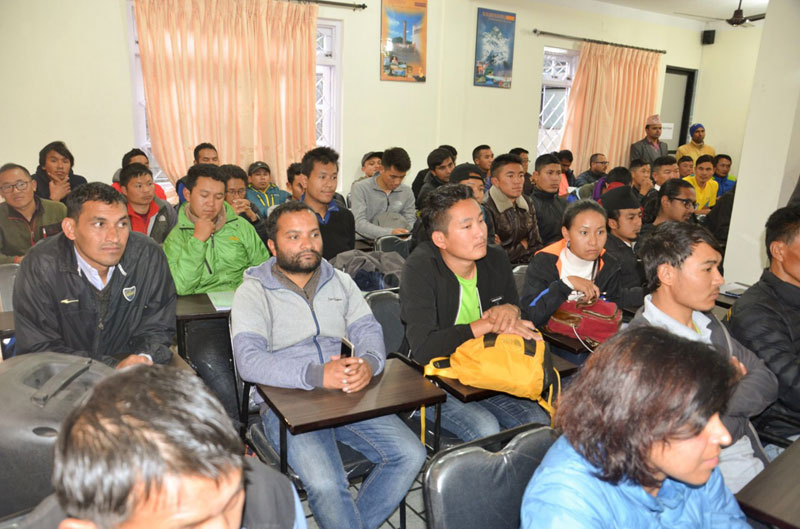 Mountain Security Training workshop - 9dec2018