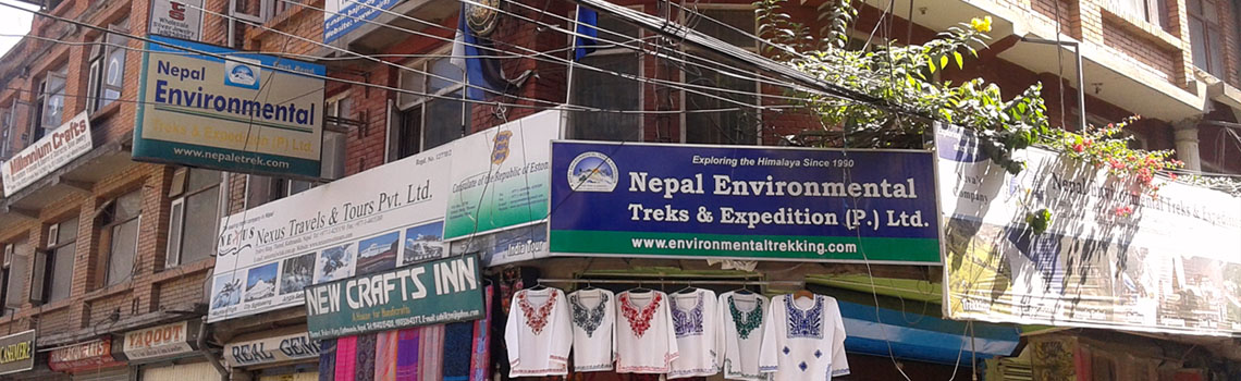 Office of Nepal Environmental Treks & Expedition Office Kathmandu, Nepal