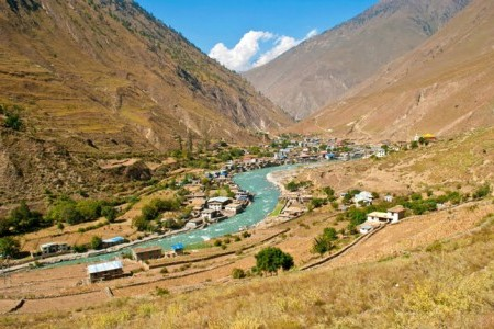 Town of Dunai - Gateway to Dolpo
