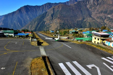 Lukla Village : Entrance to Mount Everest