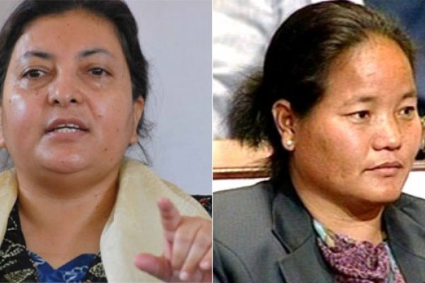 First female President and female House of Speaker in Nepal