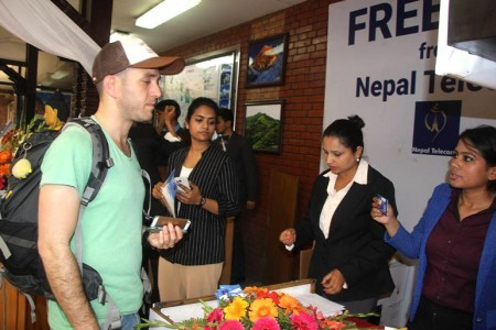 Free Mobile SIM cards for tourists in Nepal