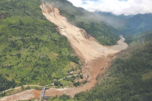 Landslide causes loss of lives in Nepal