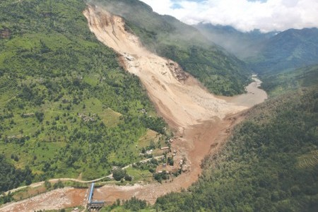 Landslide causes loss of lives in Nepal