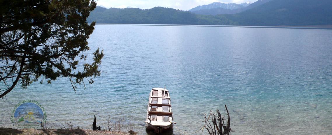 Rara Lake, the biggest and deepest fresh water lake in Nepal