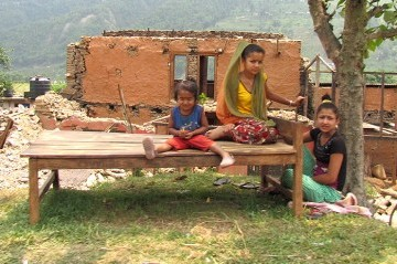 Village House Rebuilding Program for the Quake Victims