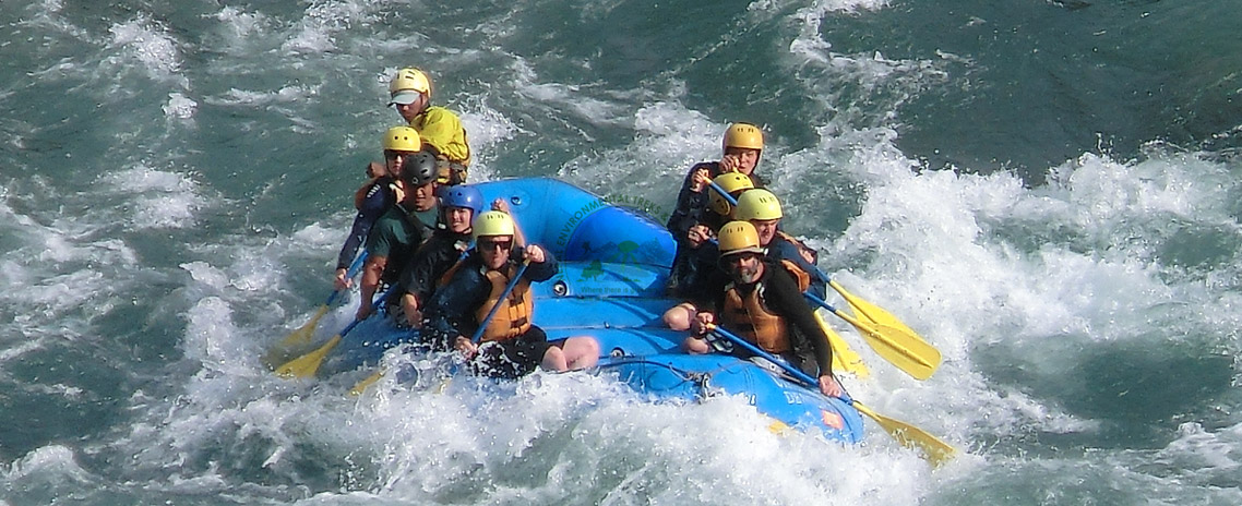 Rafting in Bhotekoshi River