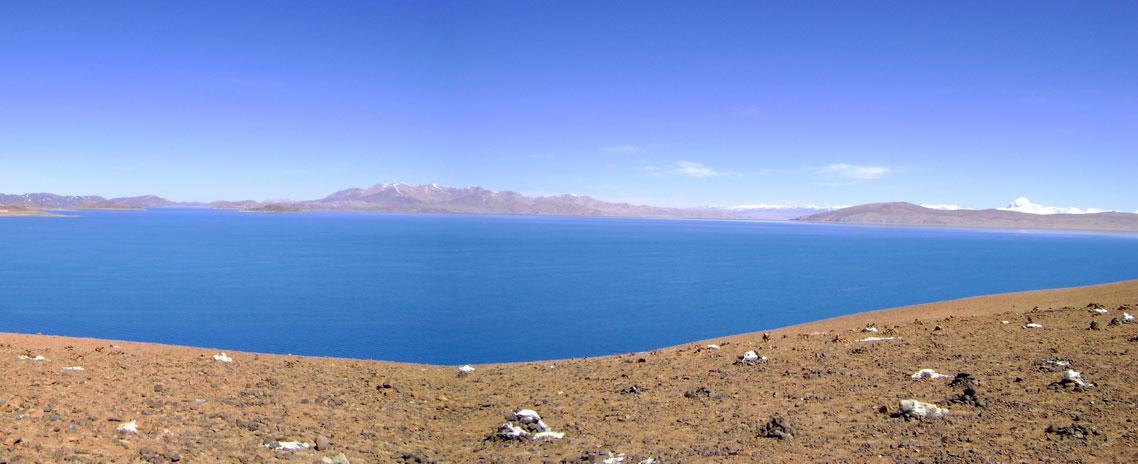 Lake Manasarovar and Mt. Kailash
