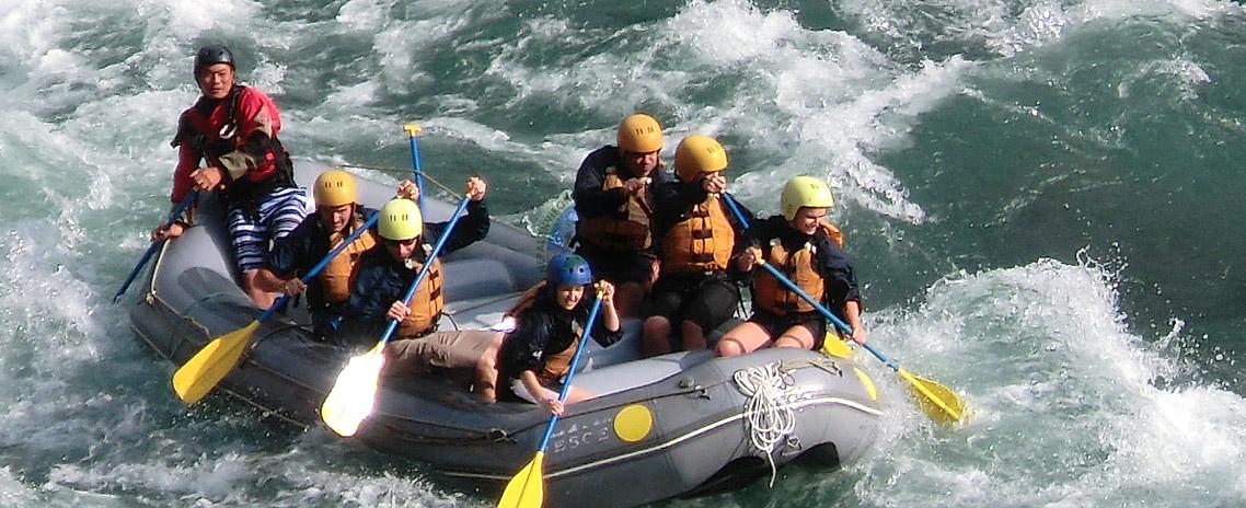 Rafting in Kaligandaki River