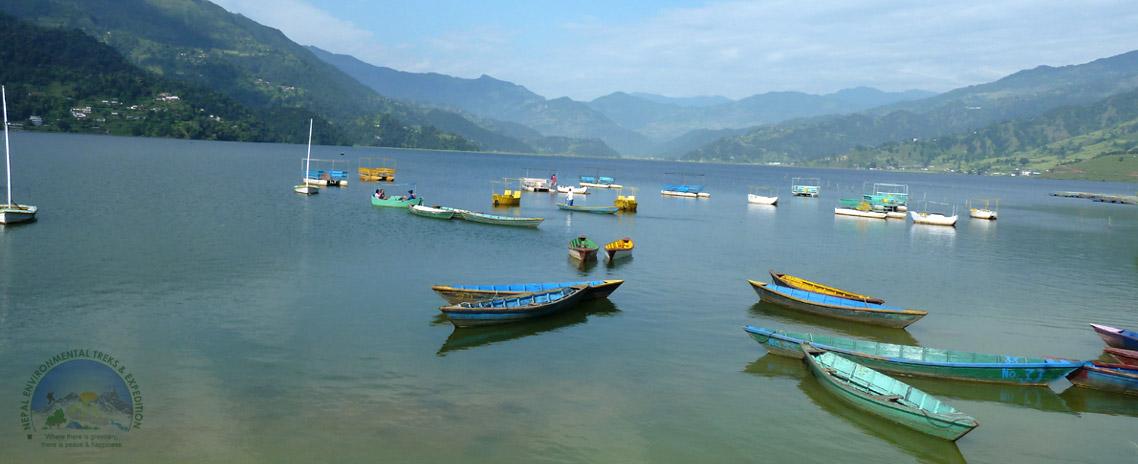 Fewa Lake (Pokhara, Nepal)