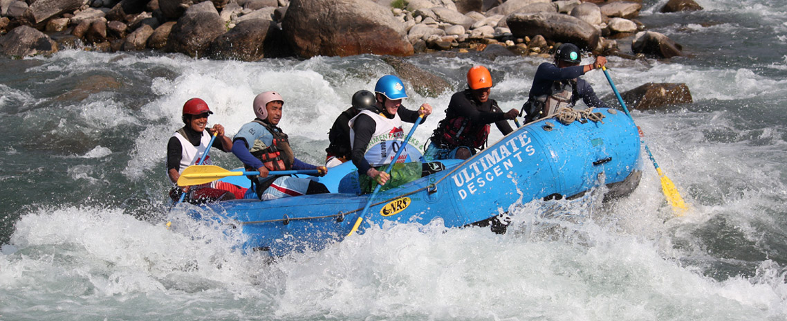 Rafting in Marshyangdi River