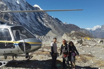 Mount Everest Heli Sightseeing Tour