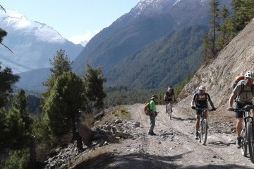 Mountain Biking in Annapurna Circuit