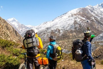 Mountain Biking in Everest Region