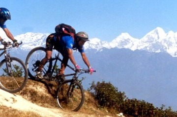 Mountain Biking in Ganesh Himal Region