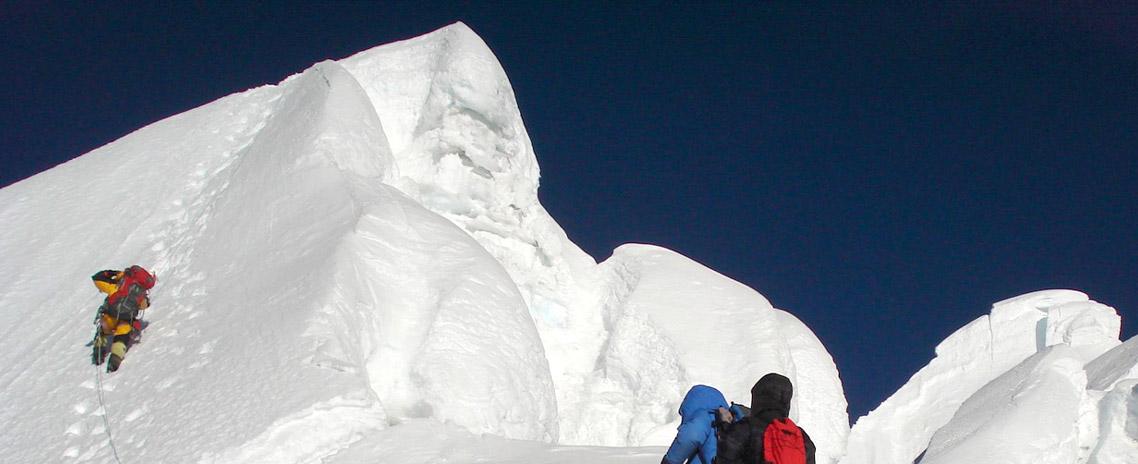 Mount Nirekha Peak Climbing