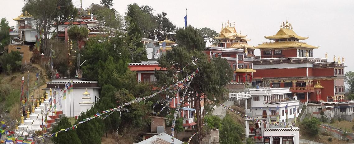 Buddhist Monastery in Namobuddha