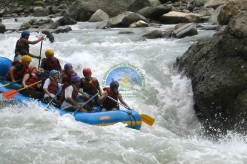 Rafting in Trishuli River - Option 1