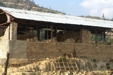 School Rebuilding Program in Sindhupalchowk