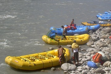Trishuli River - Option 3 (Rafting from Fishling to Mugling)