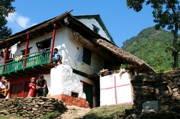 Village Tour in Nepal